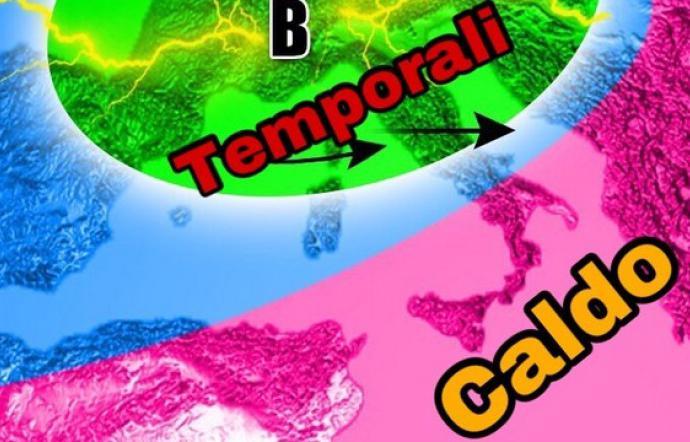 Meteo, Tempo instabile ma caldo e afa non mollano