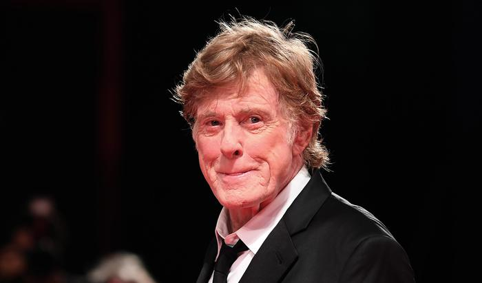 US actor Robert Redford arrives for the premiere of 'Our soul at night' at the 74th annual Venice International Film Festival in Venice, Italy, 01 September 2017. The movie is presented in out competition at the festival running from 30 August to 09 September 2017. ANSA/CLAUDIO ONORATI