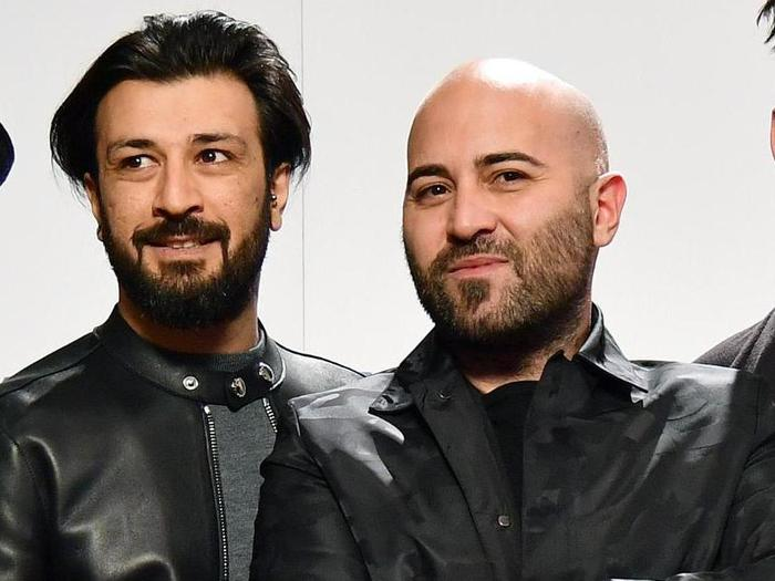 Italian band Negramaro pose before the press conference during the 68th Sanremo Italian Song Festival in Sanremo, Italy, 08 February 2018. The 68th edition of the television song contest runs from 06 to 10 February. ANSA/ETTORE FERRARI