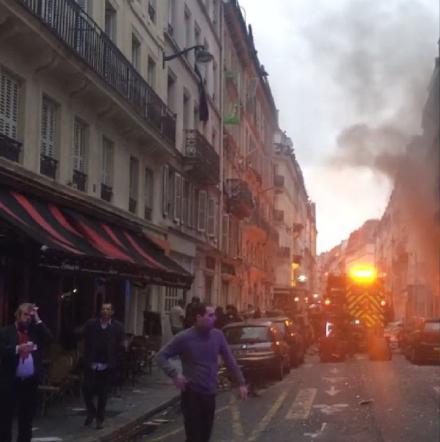 Una violenta esplosione sconvolge Parigi:  2 morti e feriti, grave ragazza di Trapani
