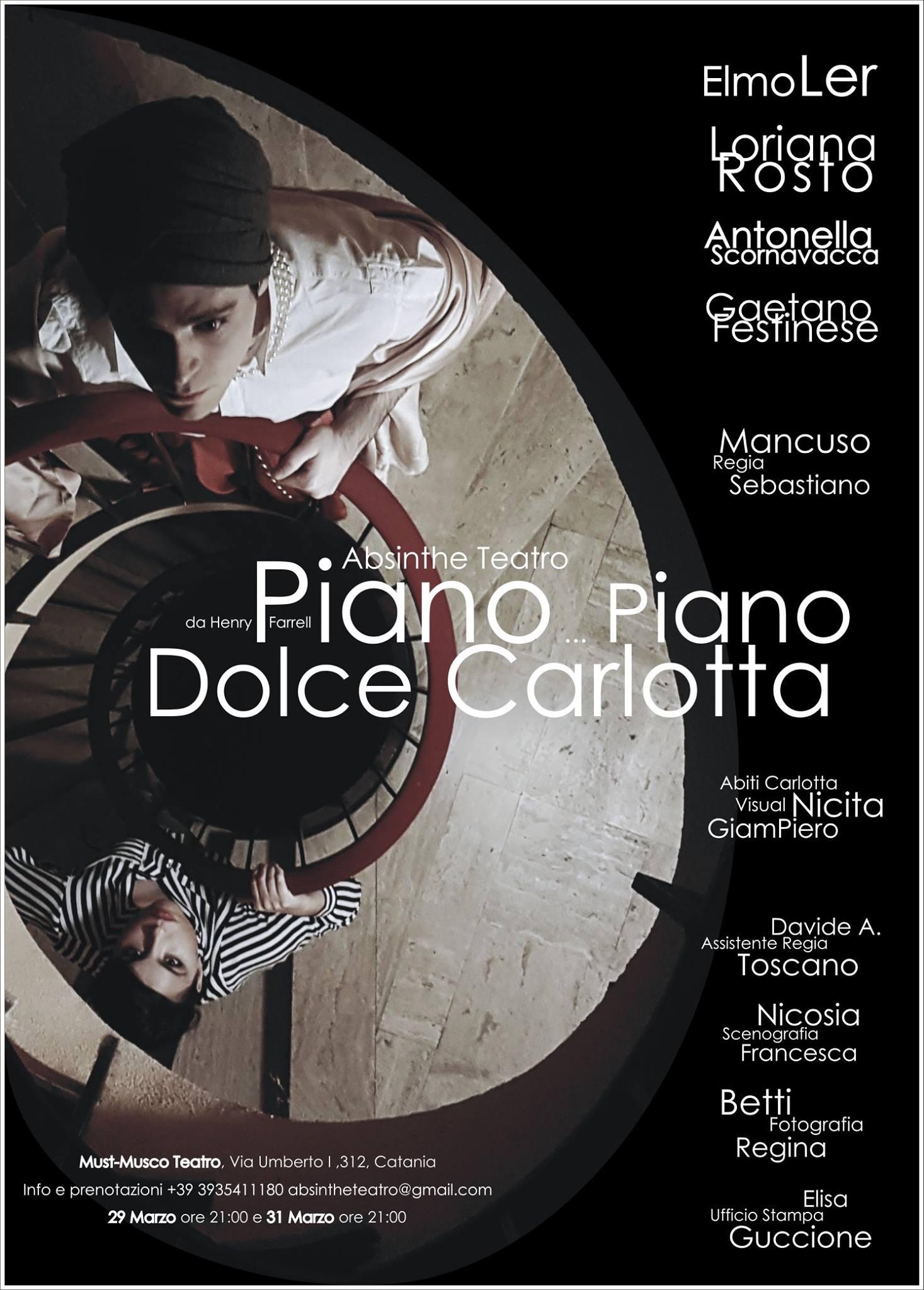 """Cresce l'attesa per il debutto del thriller psicologico """"Piano piano dolce Carlotta"""""""