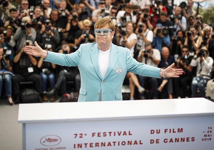 Cannes: per Rocketman c'e' Elton John al festival