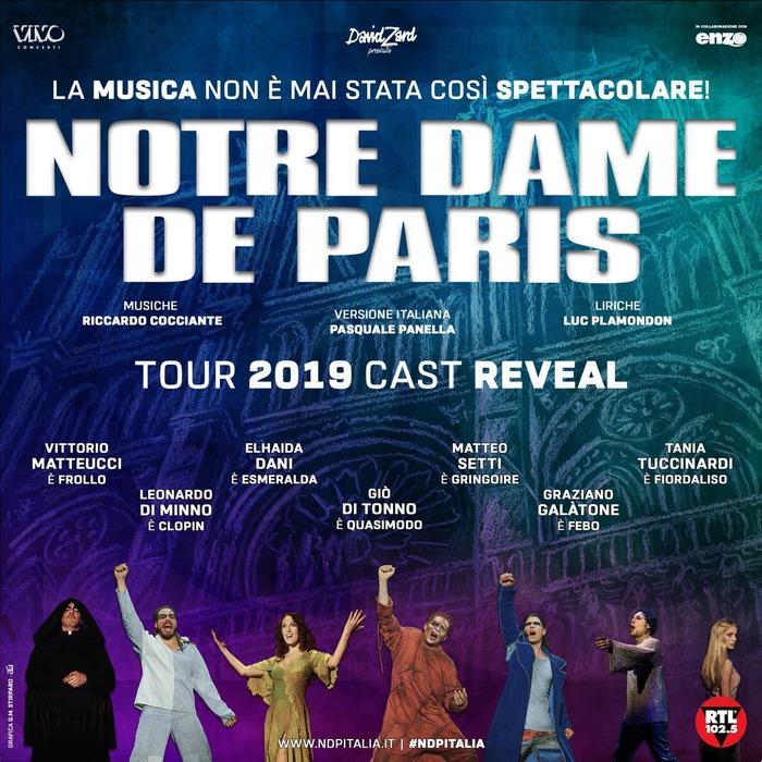 Torna a settembre Note Dame de Paris di Cocciante