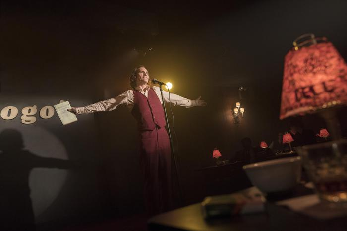 """This image released by Warner Bros. Pictures shows Joaquin Phoenix in a scene from """"Joker,"""" in theaters on Oct. 4.  (Niko Tavernise/Warner Bros. Pictures via AP) [CopyrightNotice: © 2018 Warner Bros. Entertainment Inc. All Rights Reserved]"""