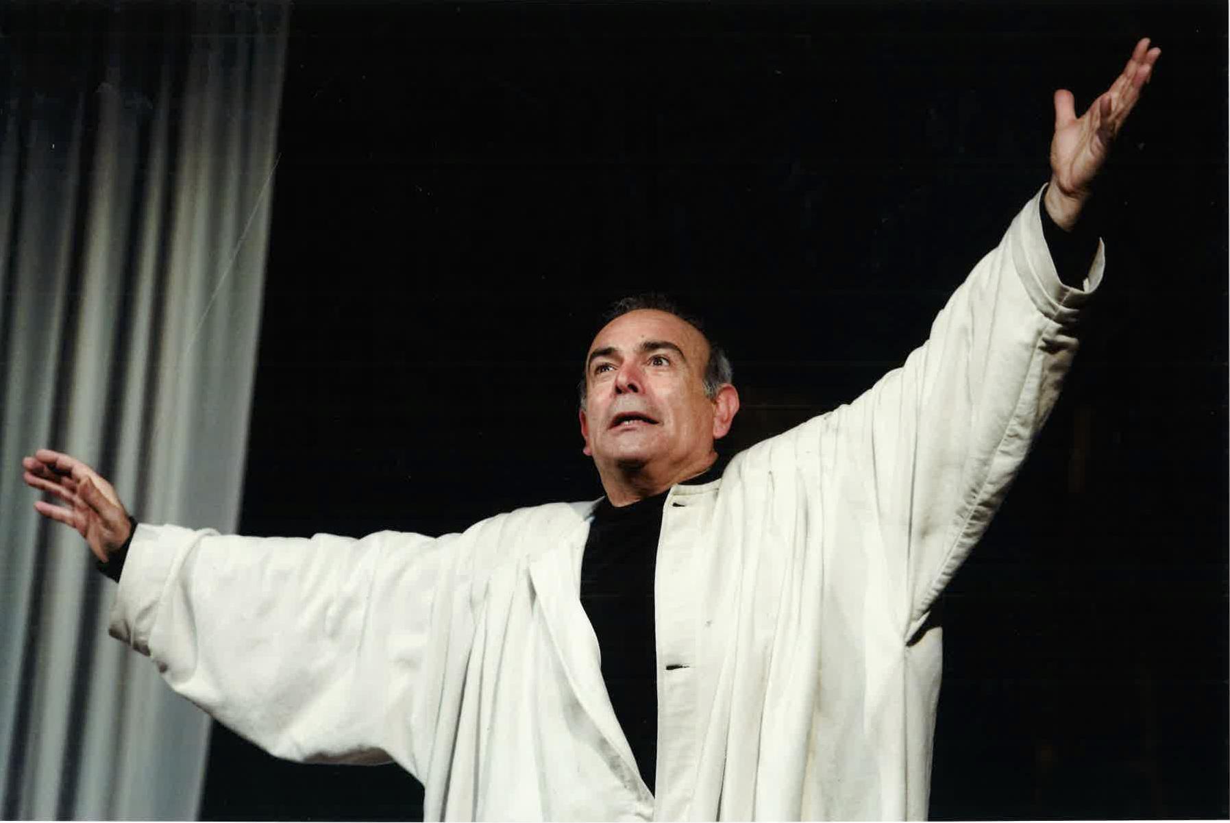 Andrea Tidona in Edipo Seh_T.LePera