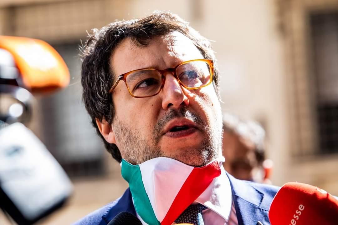 Le reazioni di Salvini al discorso di Fedez
