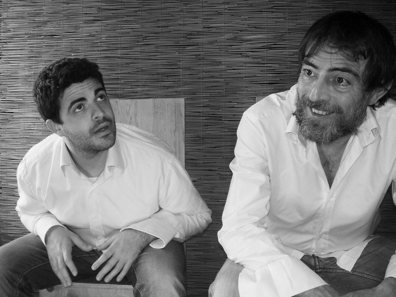 Da sinistra Antonio Starrantino e Antonio Caruso