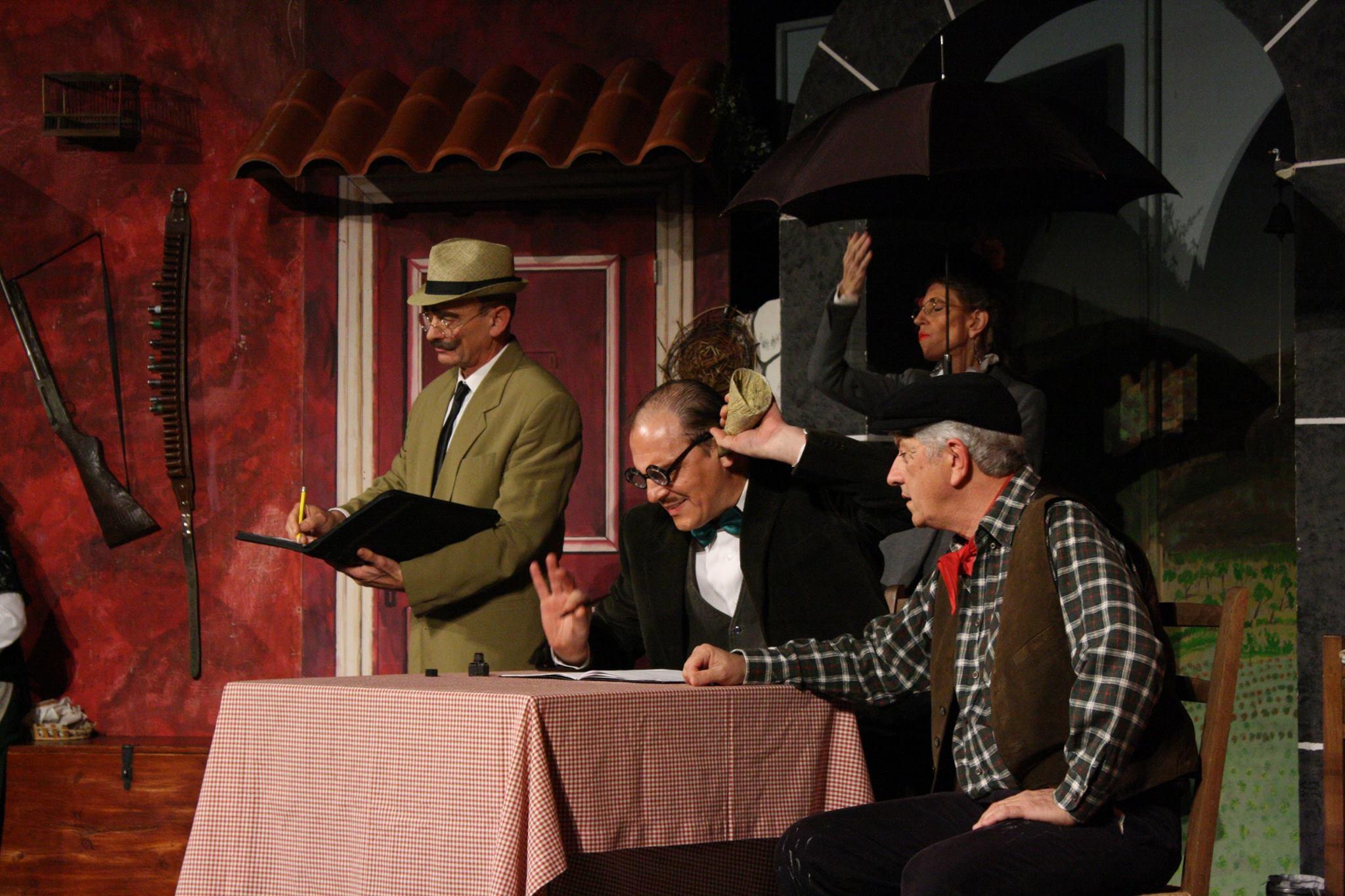 """Gatta ci cova"""" rappresentato dalla Compagnia """"La Marmotta"""" di Varese è il sesto spettacolo in gara al """"Gran Premio Nazionale del Teatro Amatoriale"""""""